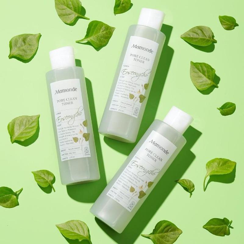 Nước hoa hồng làm sạch dầu nhờn và ngăn ngừa mụn Mamonde Toner Pore Clean Toner FULLSIZE 250ML cao cấp