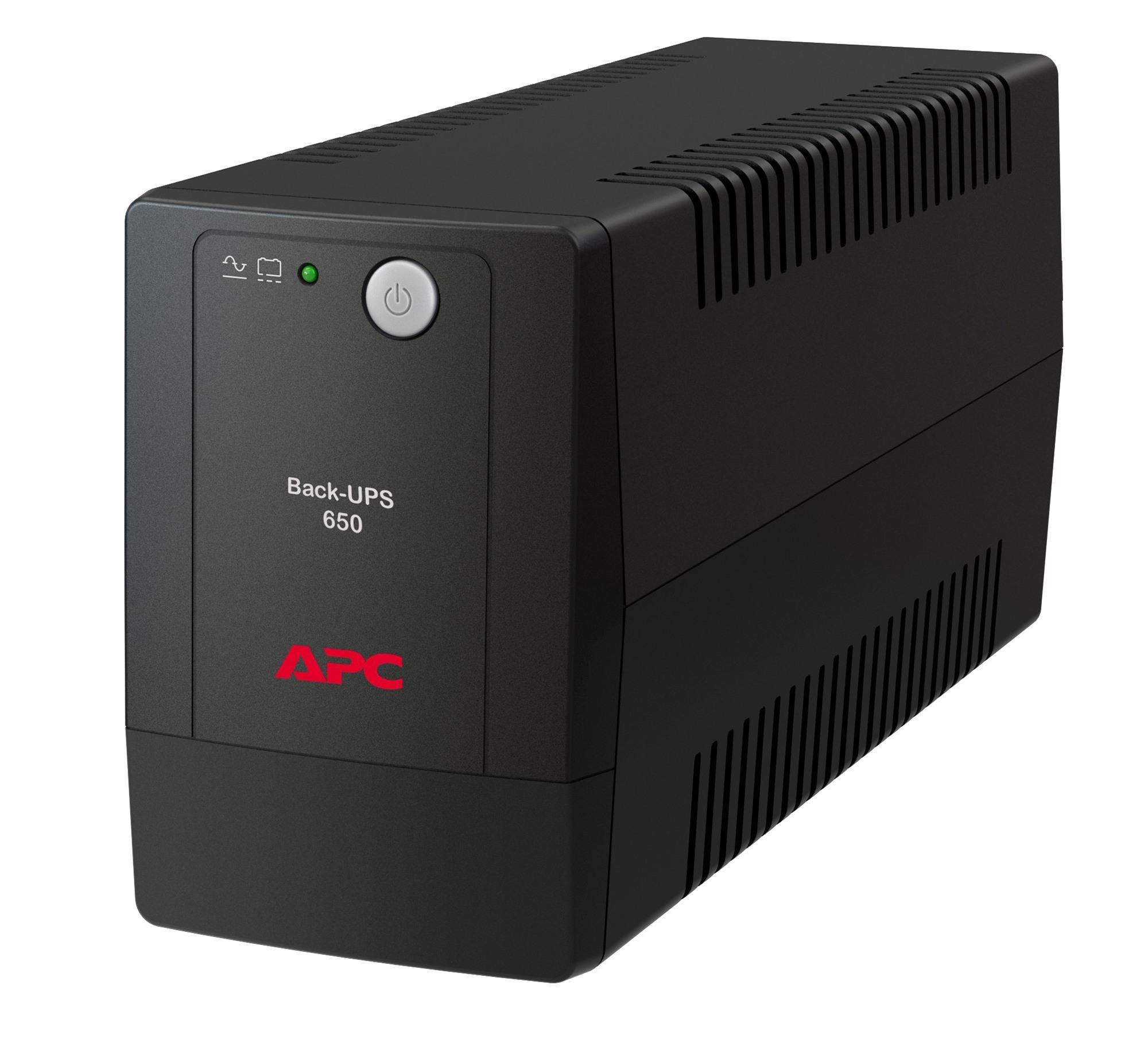 Bảng giá Bộ lưu điện: Back-UPS 650VA, 230V, AVR, Universal Sockets - BX650LI-MS Phong Vũ