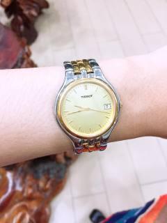 Đồng hồ nam Tissot mặt vàng thumbnail