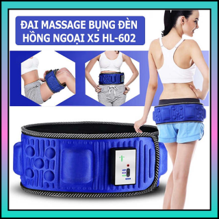 Đai Massage Bung , Đai Nịt Bụng Bằng Điện - CHỌN NGAY ĐAI MASSAGE GIẢM BÉO X5, Massage Giảm Mỡ Toàn Thân,Cơ Chế Hiện Đại Giúp Dáng Dẹp - Eo Thon MODEL KOO-246, Giảm Sốc 50%, Bảo Hành 12 Tháng thumbnail