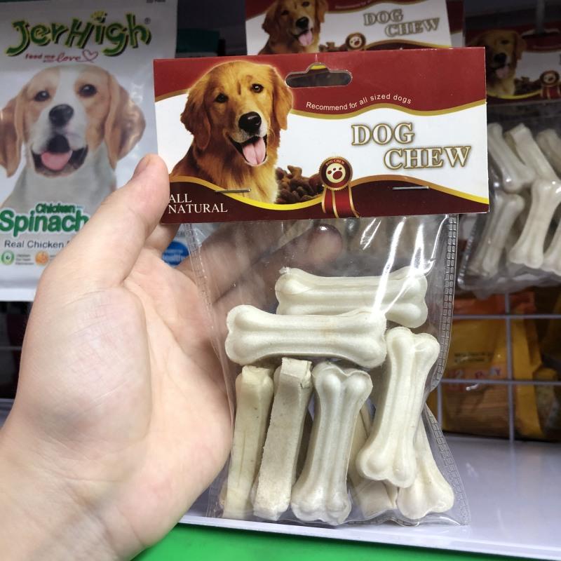 Thức ăn vặt cho chó - Xương sữa ( 10 chiếc )