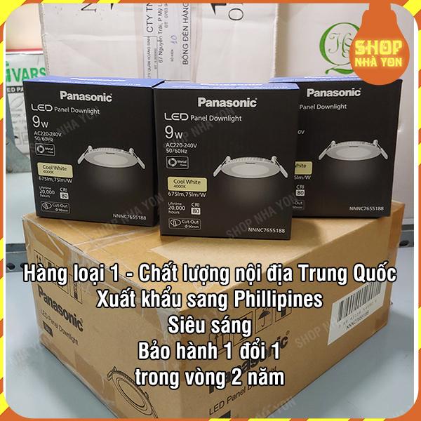 Panasonic Đèn led âm trần NNP72278 siêu mỏng 9W NNNC7655188 Chất lượng nội địa Trung Quốc xuất khẩu đi Phillipines