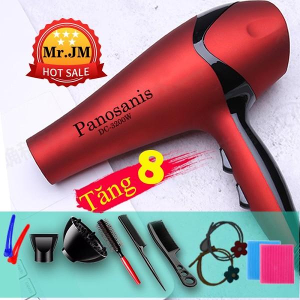 [ BẢO HÀNH] Máy sấy tóc Phát ánh Sáng Xanh Panosanis công suất 3200W 2 chiều Bảo Hành 1 Năm giá rẻ