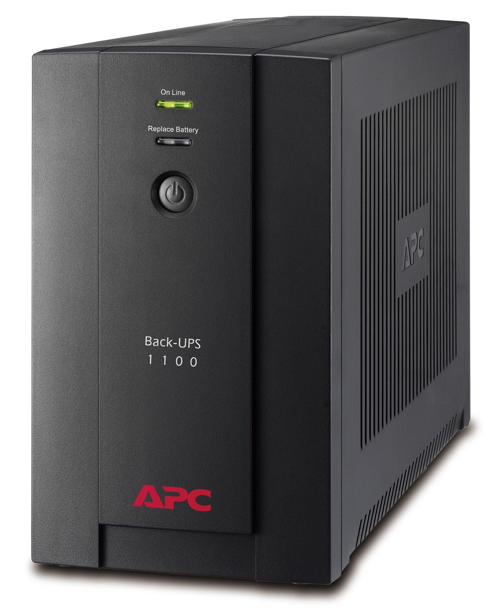Bảng giá Bộ lưu điện: Back-UPS 1100VA, 230V, AVR, Universal and IEC Sockets - BX1100LI-MS Phong Vũ