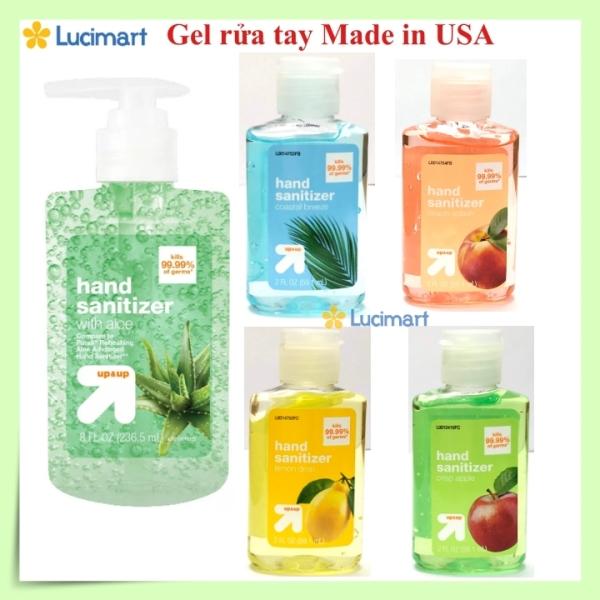 [Hàng Mỹ] Gel rửa tay khô diệt khuẩn Up&Up Hand Sanitizer