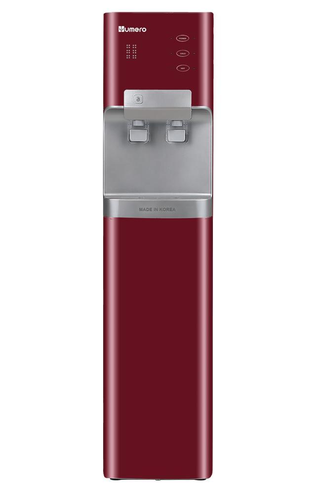 Máy lọc nước UF nóng lạnh Hàn Quốc Humero HB-750 - Cây đứng (Đỏ)
