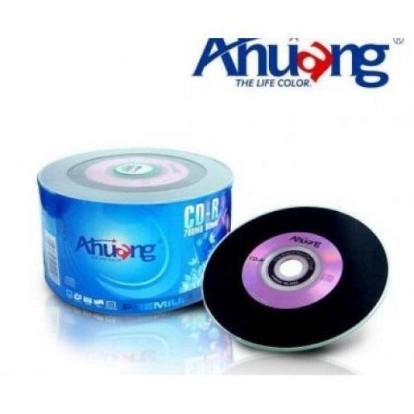 Bảng giá Đĩa trắng Đĩa cd trắng Ahuang /Risheng audio hộp 50 cái dung lượng 700mb (ĐEN ) chuyên chép nhạc AUDIO Phong Vũ