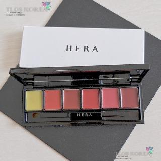Bảng Son Hera 6 màu Son Hera Sensual Spicy Nude Balm dạng bảng - Son Black Pink thumbnail