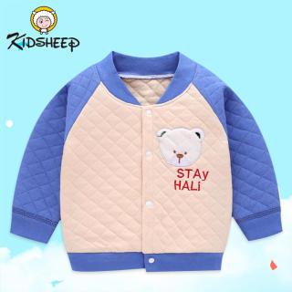 Kidsheep áo khoác cho bé trai áo khoác gió bé trai Áo khoác cho bé từ 2 đến 8 tuổi Form dáng suông unisex, chất liệu dù mềm nhẹ
