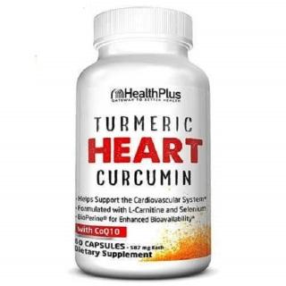 Turmeric HeartTM SỨC KHỎE TIM MẠCH - Hỗ trợ cho sức khoẻ tim mạch, giúp hỗ trợ hoạt động thường ngày của hệ thống tim mạch (60 Viên) thumbnail