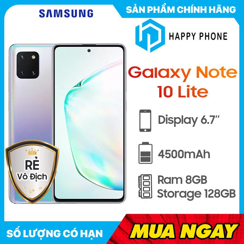 Điện Thoại Samsung Galaxy Note 10 Lite ROM 128GB RAM 8GB - Hàng chính hãng, Nguyên seal, mới 100%, Bảo hành 12 tháng