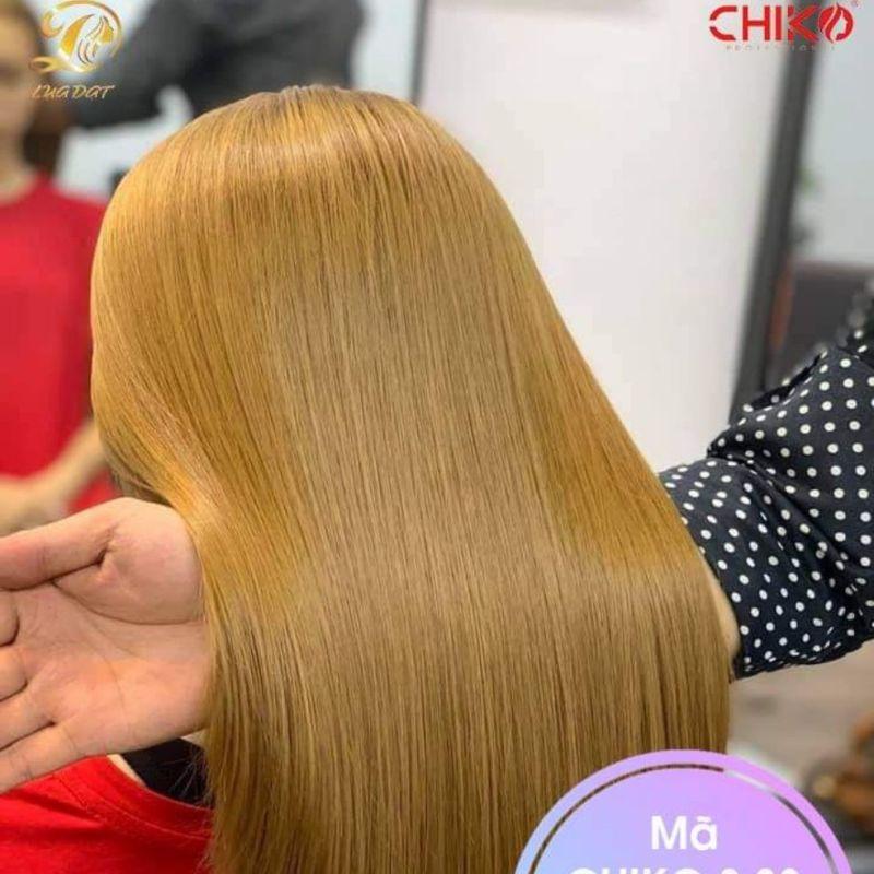 Thuốc nhuộm tóc màu Vàng Cát + kèm trợ nhuộm cao cấp