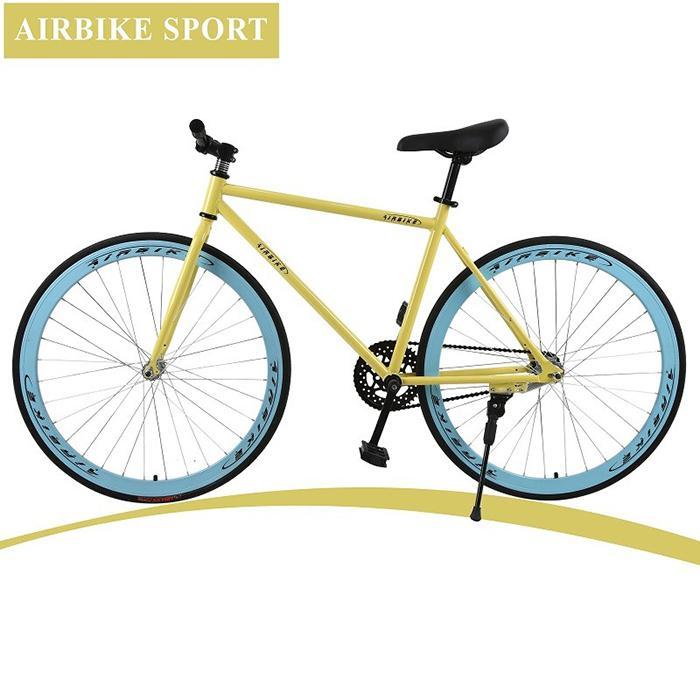 Mua Xe đạp Fixed Gear Air Bike ( nhiều màu: đen, xanh, đỏ, vàng, trắng)