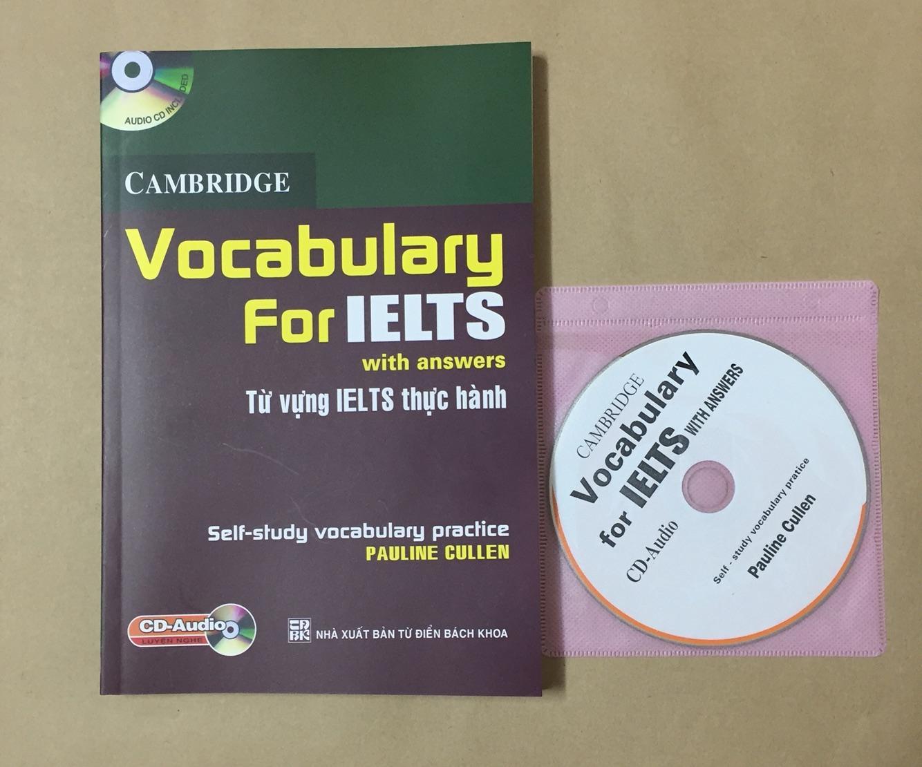 Cam bridge Vocabulary For IELTS kèm CD