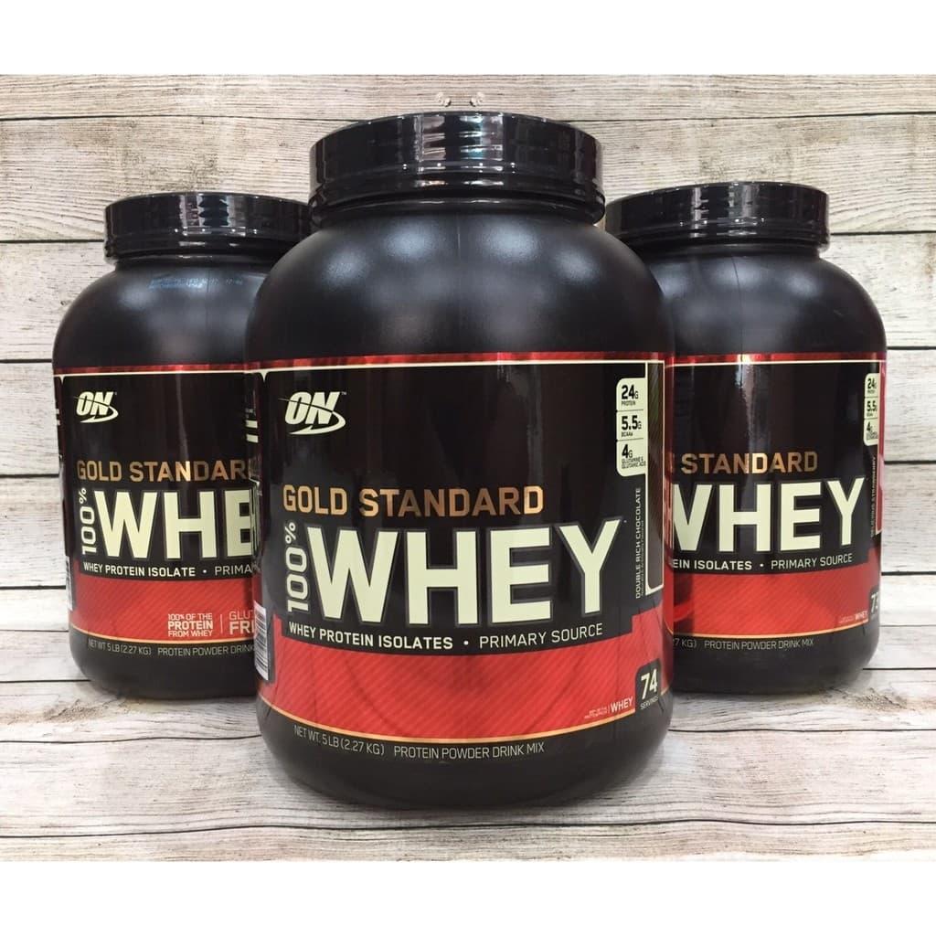 Sữa Tăng Cơ Bắp ON Gold Stard 100% Whey 5 Lbs (2.6kg)