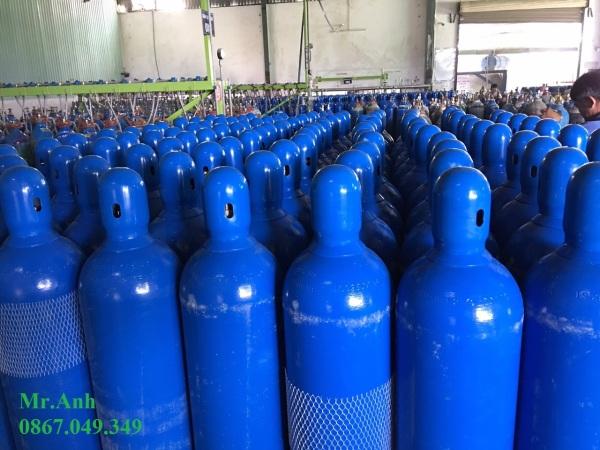 bình khí Argon 14l