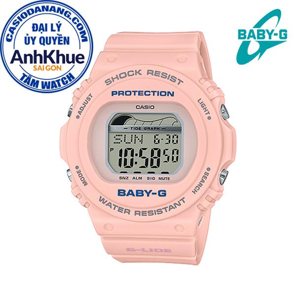 Đồng hồ nữ dây nhựa Casio Baby-G chính hãng Anh Khuê BLX-570-4DR (43mm)