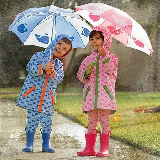 Giá bán Áo mưa bộ trẻ em, Bộ quần áo đi mưa dành cho trẻ em tiện lợi, Bộ quần áo mưa bằng vải dù không thấm nước, Áo đi mưa cho bé cao cấp