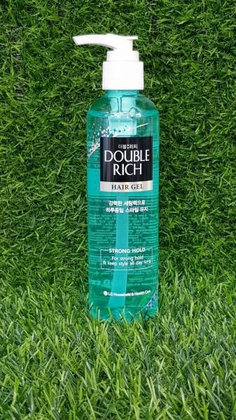 Gel tạo kiểu và giữ nếp Double Rich 250ml cho tóc uốn cao cấp