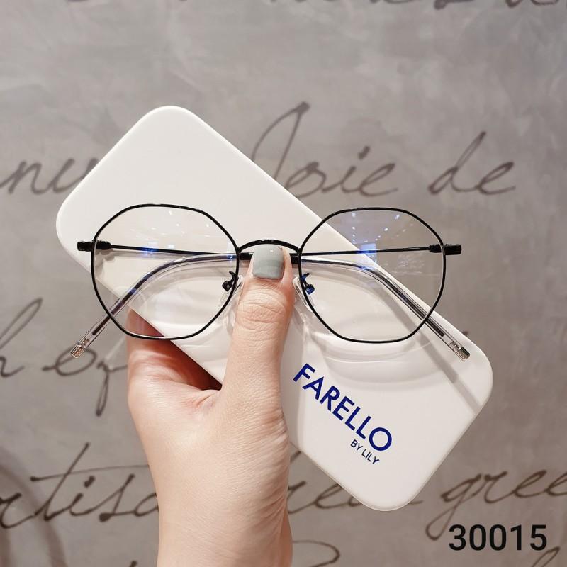 Giá bán Gọng kính cận thời trang  Gọng cận kim loại 30015