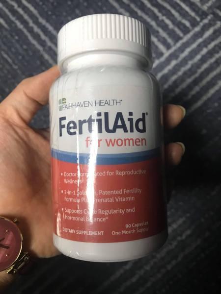 FertilAid for Women tăng khả năng thụ thai cho nữ giới