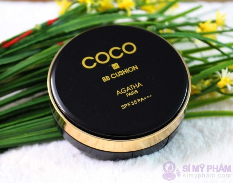 Phấn nước che khuyết điểm, sáng da Cushion Cream BB COCO -  chống nắng SPF35 Hàn Quốc cao cấp