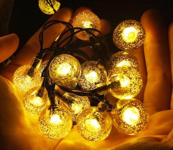 Đèn LED bóng bi bọt trang trí (dài 10M và 8M)