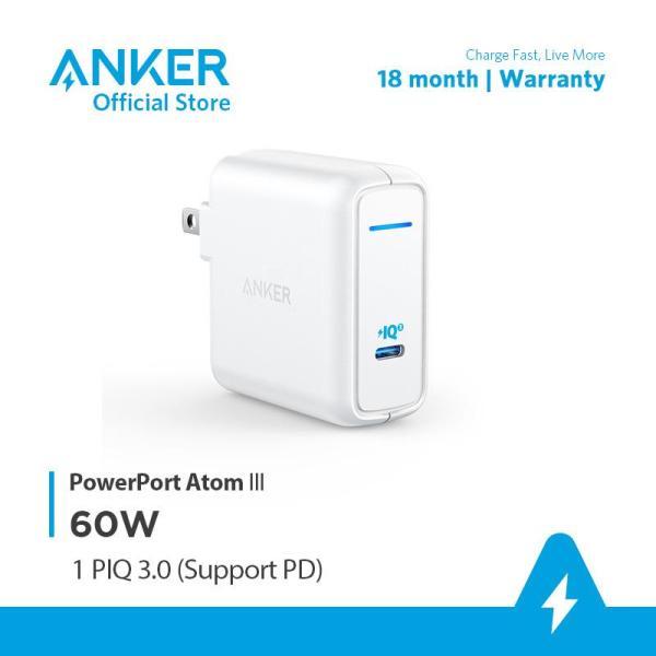 Sạc ANKER PowerPort Atom III 1 cổng PIQ 3.0 60W - A2613