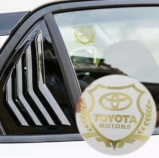 Bộ 2 Logo Decal 3D dán xe ô tô (Toy) thumbnail