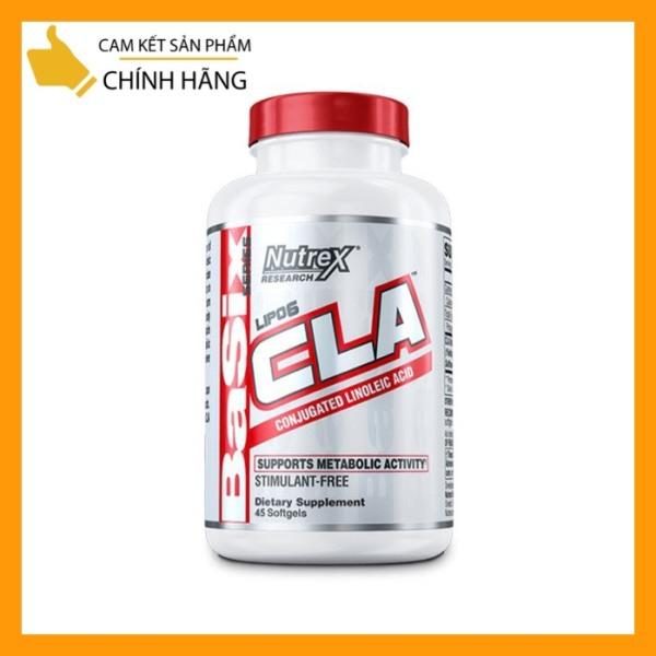 [Chính Hãng] NUTREX CLA LIPO6 180 Viên - Viên uống Đốt mỡ - Giảm cân - Siết cơ - Hỗ trợ sức mạnh, tăng cơ hiệu quả