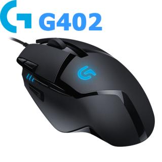 Chuột Chơi GAME Logitech G402-Chơi GAME Mạnh Mẽ, Mượt Mà-Mouse Logitech G402 USB BlacK Dụng Cụ Máy Tính Chuyên Nghiệp Bảo Hành 1 Đổi 1 thumbnail