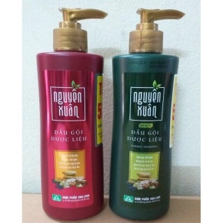 Dầu gội Dược liệu Nguyên Xuân xanh (Dưỡng tóc, phục hồi hư tổn) thumbnail