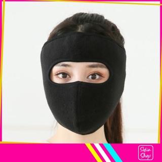 Khẩu Trang Ninja Nin Ja Vải Nỉ Nam Nữ Che Kín Mặt Kín Tai Chống Nắng Chống Nóng Chống Bụi - Khau Trang Ninja Nin Ja Vai Ni Nam Nu Che Kin Mat Kin Tai Chong Nang Chong Nong Chong Bui KK3 - SHOP SOFIA thumbnail