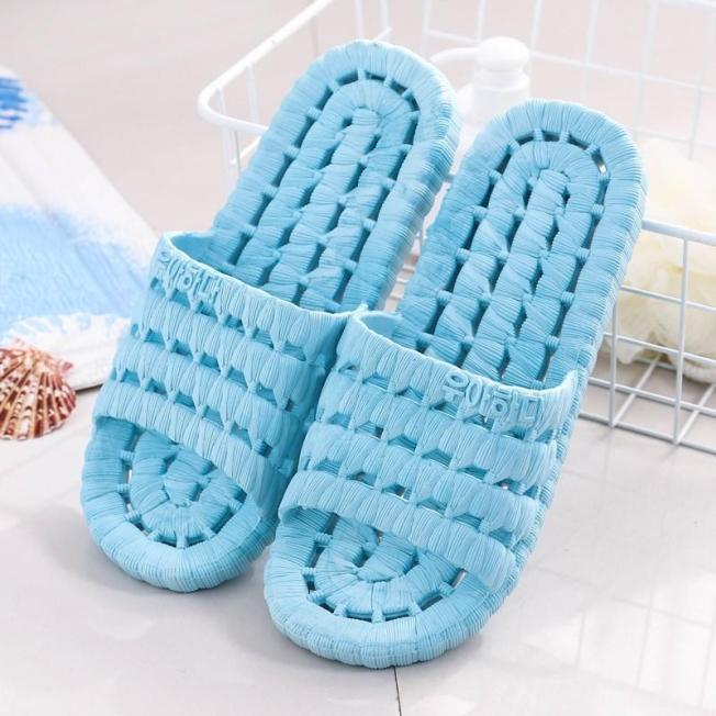 Dép đi trong nhà nhà tắm văn phòng xốp lỗ siêu bền, siêu nhẹ chống trơn trượt, dép trong nhà sgr1899 giá rẻ