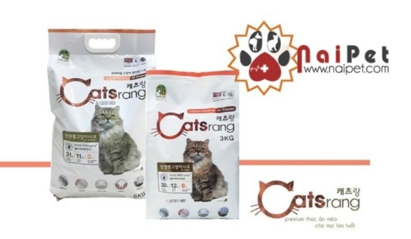 Thức ăn Hạt Cho Mèo Mọi Lứa Tuổi Catsrang Hàn Quốc