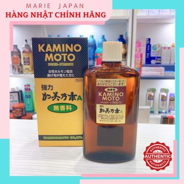 Tinh chất ngăn rụng, giúp mọc tóc siêu mạnh Higher Strength Kaminomoto Nhật Bản 200ml cao cấp
