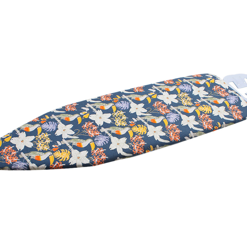 Bảng giá 140X50cm Padded Ironing Board Cover Protective Press Mesh Iron Ultra Thick Cotton Fitted Heat Retaining Cloth Guard Protect-Navy