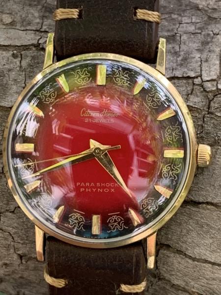 Đồng hồ nam CITIZEN mặt lửa xuất xứ Nhật Bản