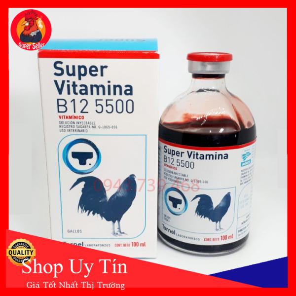 Combo 50ml Super Vitamin B12 5500  Hàng Chính Hảng Tornel Mexico