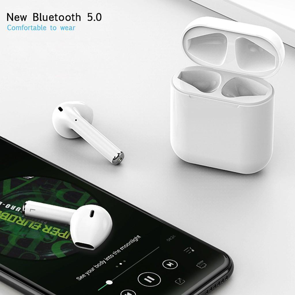 Tai Nghe Bluetooth 5.0 Inpods 12 (Màu Trắng, Nút Cảm ứng) - Tai Nghe Không Dây,tai Nghe Nhét Tai Không Dây,Tai Nghe Nhét Tai,Tai Nghe Bluetooth Inpods 12, Tai Nghe Bluetooth-alico Giá Quá Tốt Phải Mua Ngay