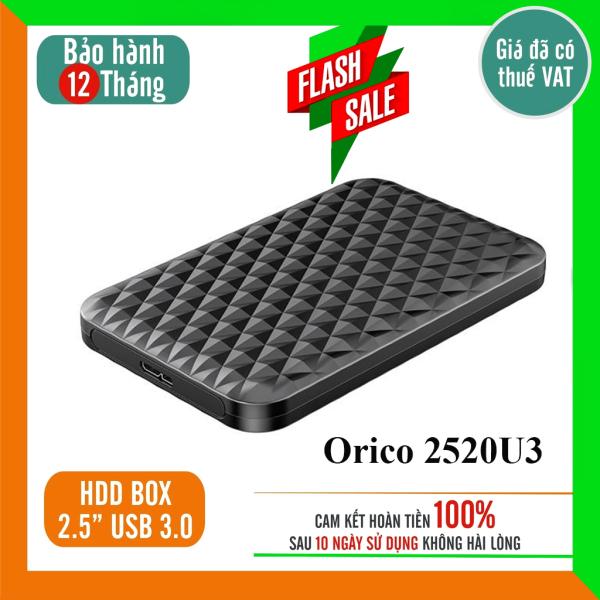 Hộp đựng ổ cứng ngoài sata Orico HDD box 2.5 2599US3-BK / 2577US3 / trong suốt 2139U3 / 2189U3 / 2588 /2521U3 / 2520U3 chuẩn USB 3.0 tốc độ đọc ghi cao dung lượng lớn , thuận tiện làm Ổ di động tiết kiệm chi phí