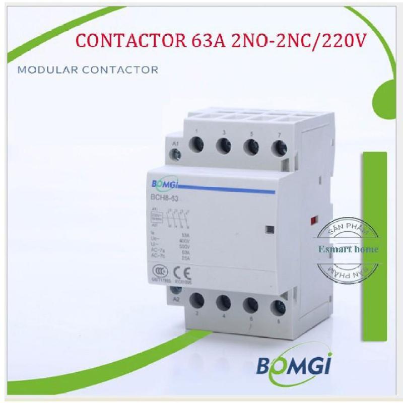 Contactor 63A 2NO-2NC chuyển mạch nhanh không gây mất điện làm ATS 2P 63A