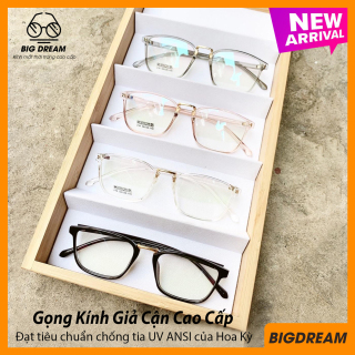 Mắt kính giả cận cao cấp gọng dẻo dành cho cả nam và nữ BDGD210 - Gọng kính cận không độ Hàn Quốc - Bảo hành 12 tháng - Tặng kèm hộp + Khăn Lau thumbnail