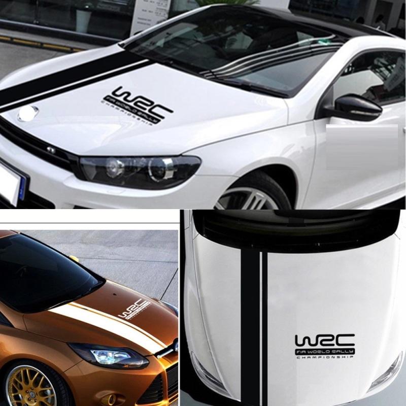 Tem dán mui xe ô tô W2C tem dán trang trí ô tô