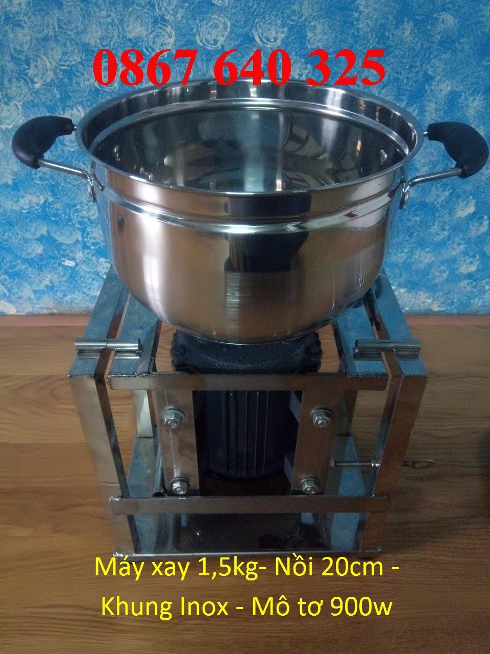 Máy làm chà bông loại 1,5kg/mẻ