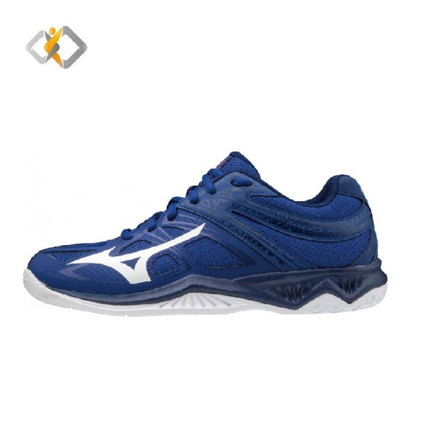 Giày cầu lông cho nam hàng chính hãng Mizuno THUNDER BLADE 2 V1GA197020 chơi được sân bê tông-giày đánh bóng chuyền