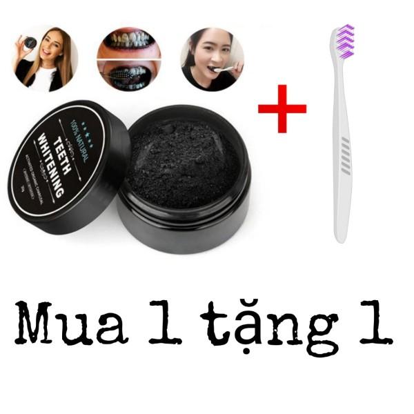 Bột Than Tre Tẩy Trắng Răng Teeth Whitening Hộp 30g MUA 1 TẶNG 1