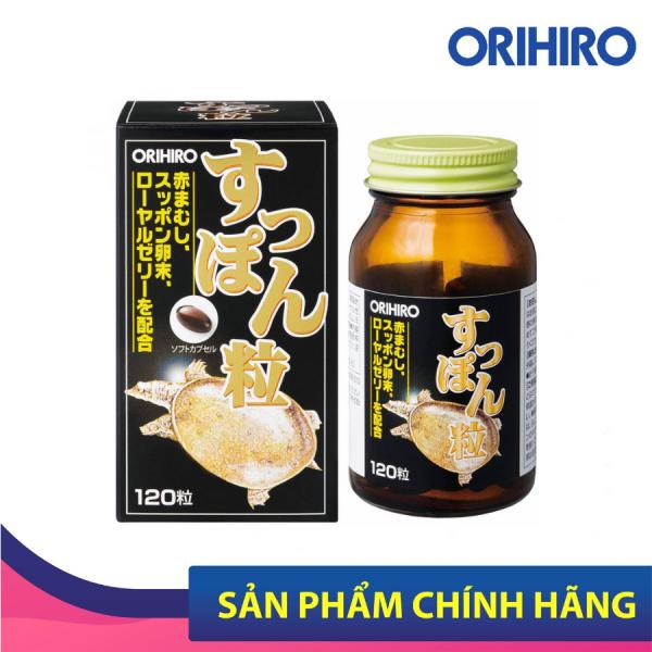 Viên Uống Chiết Xuất Ba Ba Orihiro 120 Viên Hỗ Trợ Tăng Cường Sinh Lực Nam Giới