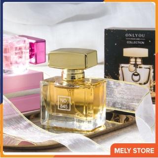 Nước hoa nữ thơm lâu quyến rũ No.845 843 hương thơm độc đáo, quyến rũ, mê hồn, hương dịu nhẹ, dạng xịt, nhỏ gọn bỏ túi được, xịt body, nước hoa nữ mini cao cấp chính hãng giá rẻ quyến rũ nam 30ml Melystore PN026 thumbnail