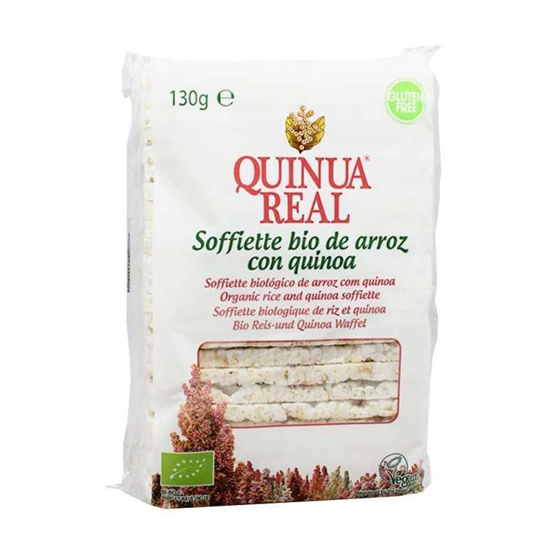 Bánh gạo hữu cơ vị diêm mạch (quinoa) Quinua Real 130g